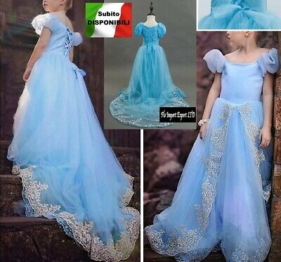 Cenerentola - Vestiti Carnevale Dress up Princess Cinderella Costumes 567005