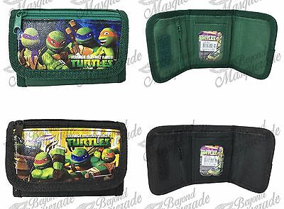 Teenage Mutant Ninja Turtles Tri-Fold Wallet Coin Purse Bag