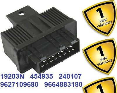 Peugeot Partner 406 806 1995+ ABS Fuel Double Relay 9627109680 9664883180