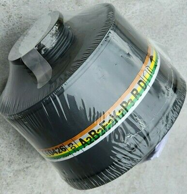 NBC/CBRN 40mm NATO Gas Mask Filter -Sealed Newest Lot Available - Expiry: 8/2021