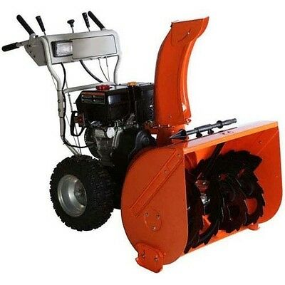 "Dual Stage Snow Blower - 30"" Clear - 11 HP - 50ft Throw - 120V Electric Start"