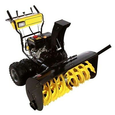 "Dual Stage Snow Blower - 36"" Clear - 15 HP - 50ft Throw - 120V Electric Start"
