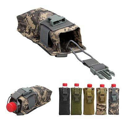 Small Molle Tactical Military Police Hunting Walkie Talkie Molle Radio Pouch Bag