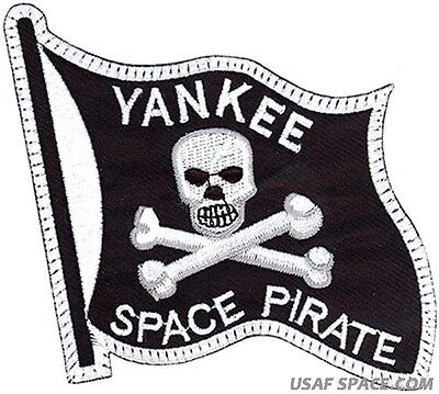 Usaf Yankee Space Pirate Original Air Force Morale Patch