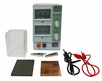 Tank plating system / immersion electroplating equipment - Basic kit