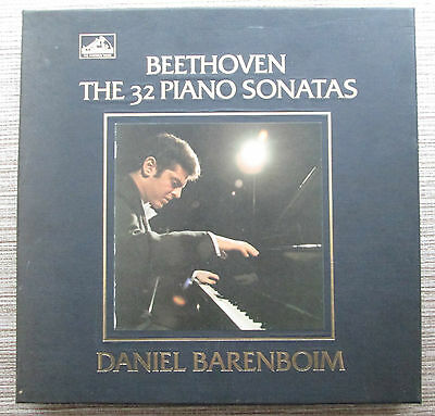 #hmv Sls 794/12 *daniel Barenboim* Mozart The 32 Piano Sonatas *12 Lp Set* Nm