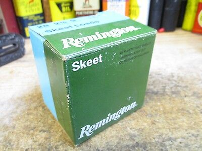 REMINGTON SKEET LOADS empty 28 GA 2 3/4 IN shotgun shell box ORIGINAL SHOTGUN