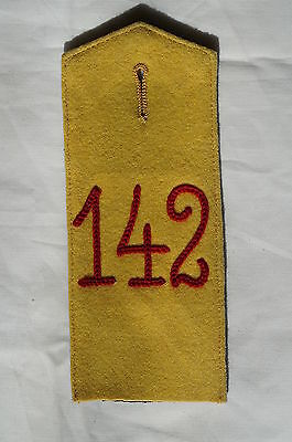 WW1 Imperial German 142nd 7th Baden Infantry Dunkelblau Shoulder Strap