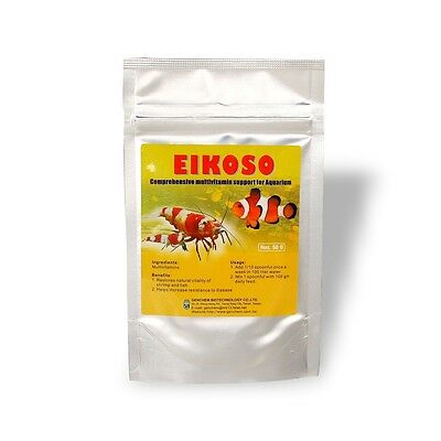 Genchem Eikoso 50G Multivitamins Supplement Prevent Disease for Shrimp Fish