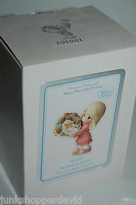Precious Moments 2010 FIGURINE My Hope is In You 101001 Annual Dated