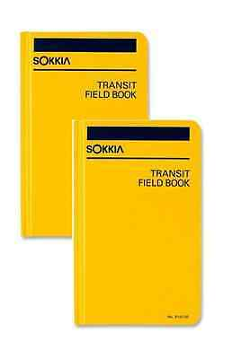 New Sokkia Transit Field Book 815200 (Set of 2)
