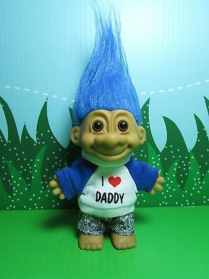 "I LOVE DADDY - 5"" Russ Troll Doll - NEW IN ORIGINAL WRAPPER"