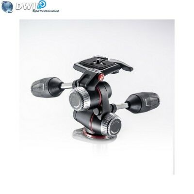 Nuovo Manfrotto Mhxpro-3W 3-Way Pan/tilt Head For Tripod
