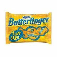 Butterfinger Fun Size Chocolate Candy Bar, 11.5 Ounce -- 12 per case.