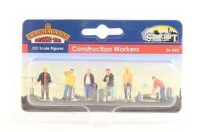 Branchline Oo Scenecraft 36-042 Scale Figures Construction Workers Bln36042