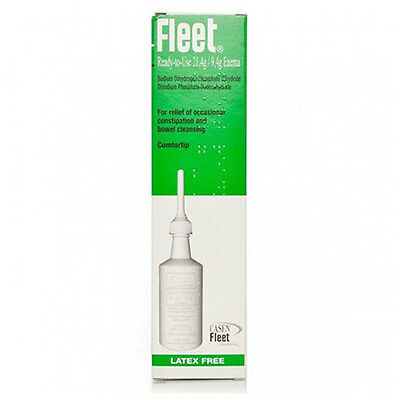 NEW Fleet Constipation/Fecal Impaction Relief Enema Lubricant Laxative 133ml