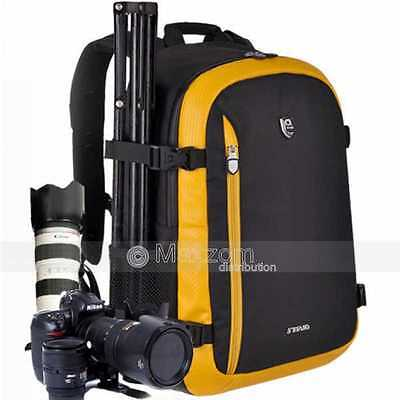 Large DSLR SLR Camera Backpack Rucksack Bag Case For Canon Nikon New