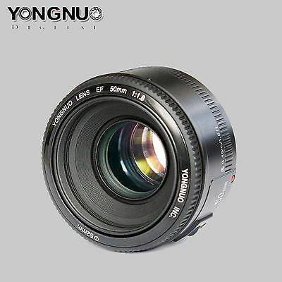 Pro YONGNUO YN 50MM F1.8 Large Aperture Auto Focus Standard Prime Lens for Canon