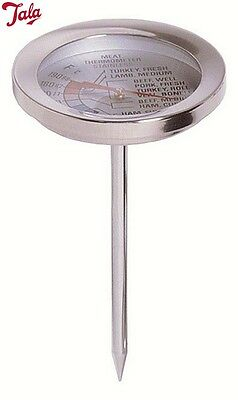 Tala Stainless Steel Meat Thermometer Desired Temperature Kitchen Accesory New