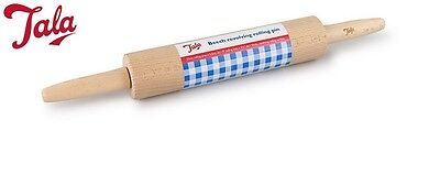 Tala Beech Revolving Rolling Pin Fondant Cake Accessory Tool Kitchen Home New