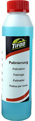 Patination fluid (250 ml)- Copper & brass ager - Ageing solution - Patina paint