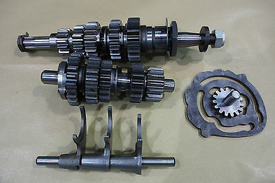 Triumph 5 Speed Gearbox Complete Shafts Gears Selectors T140 Tr7 T120V Etc