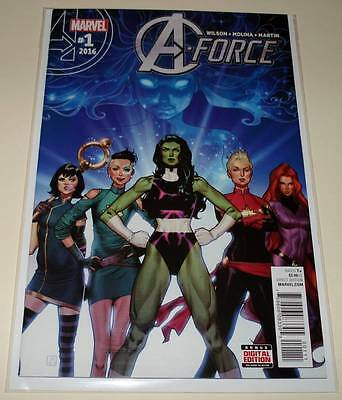A-FORCE # 1  Marvel Comic  March 2016  NM
