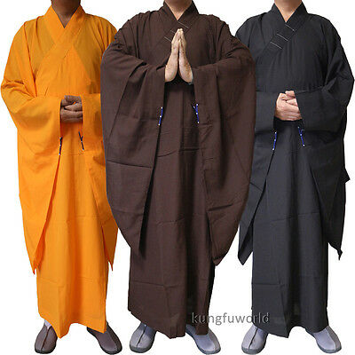 Top Quality Buddhist Monk Dress Haiqing Robe Shaolin Kung fu Martial arts Suit