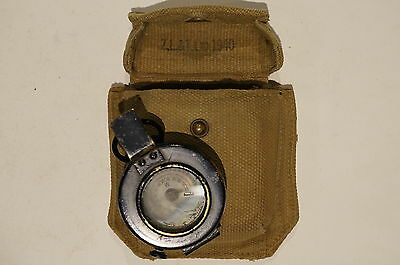 WW2 British Canadian T.G. Mk III Compass with P37 Case