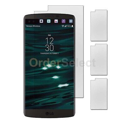 3X NEW Ultra Clear HD LCD Screen Shield Protector for Android Phone LG V10 HOT!