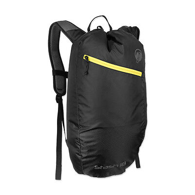 Klymit STASH 18 Day Pack air frame Backpack BLACK Lightweight BRAND NEW