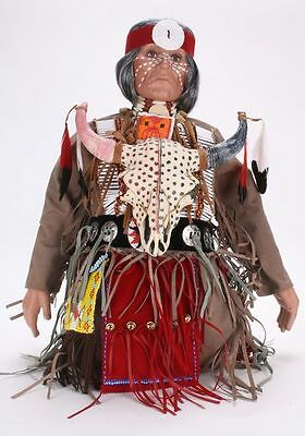 Timeless Collections + Spirit Dance + Native Indian + Handcrafted Porcelain Doll