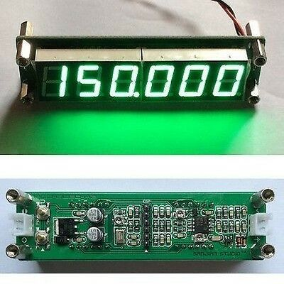 Digital 6LED 1MHz~1000MHz 1GHz RF Signal Frequency Counter Cymometer Tester G