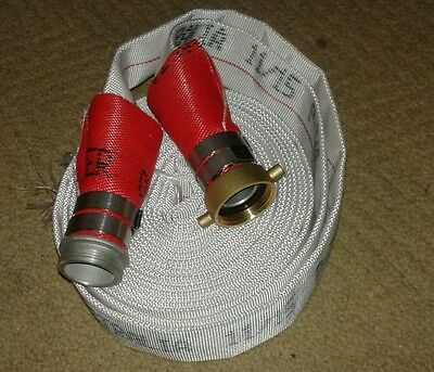 Fire hose kit NEW 38MM x 10m  CRUSADER