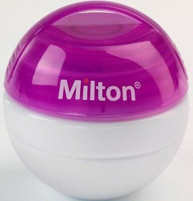 Kid MILTON New Mini Baby Soother Teat Dummy Steriliser with 10 FREE Tablets -