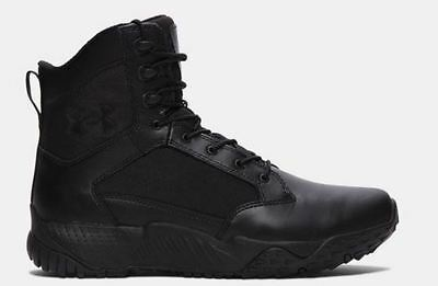 Under Armour UA Stellar Men's Tactical Boot Black 8in All Sizes New