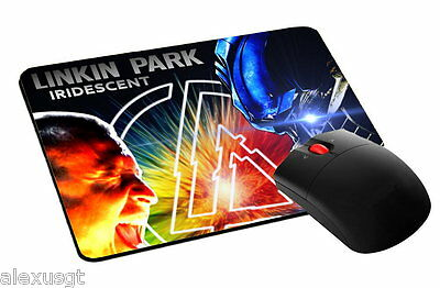 mouse pad, tappetino mouse LINKIN PARK music rock pc computer desktop