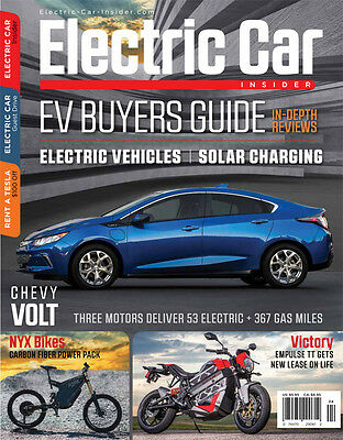 Electric Car Insider Magazine EV and Solar Charging Buyers Guide