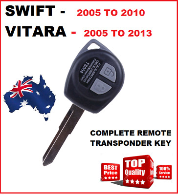 Suzuki SWIFT Car Key Blank Remote Control 2005 2006 2007 2008 2009 2010 2011 12