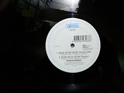 "Funkdoobiest - Bow Wow Wow 12"" Single Uk Pressing"
