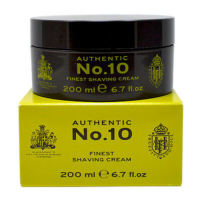 Truefitt & Hill Authentic No. 10 Finest Shave Cream 200ml Chritmas Gift Sale