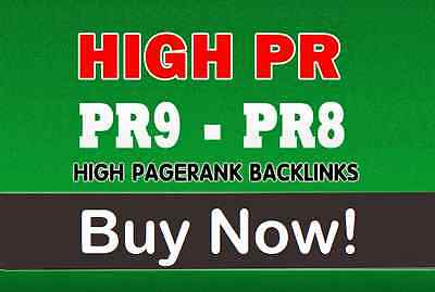 Set Up 20 seo Backlinks From PR9 High Authority Domains100% friendly with Panda
