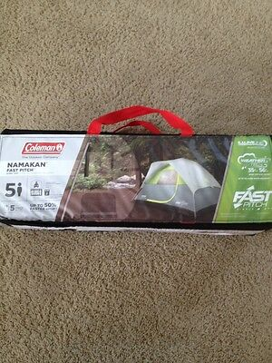 Coleman Namakan Fast Pitch Dome Tent 5 Person New And Sealed