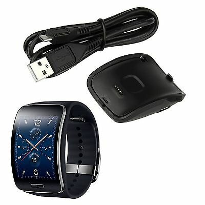 New Charging Dock Charger Cradle For Samsung Galaxy Gear S Smart Watch SM-R750