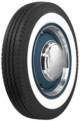 """550R16-Coker Classic 2 3/4"""" Wide Whitewall Radial Tires"""