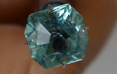 Aquamarine Natural Mid Blue 5.98 ct O'Briens Crk Queensland Australia
