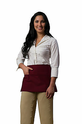 Daystar Apparel Aprons 1 Style 100 three pocket waist waiter apron ~ Made in USA