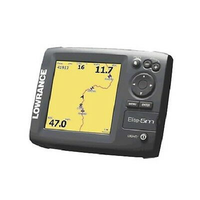 Motorcycle/atv/utv Lowrance Elite-5M Hd Baja 000-11238-001