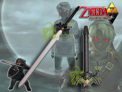 "41"" Foam Padded Dark Link's Zelda Master Sword LARP Cosplay halloween costumes"