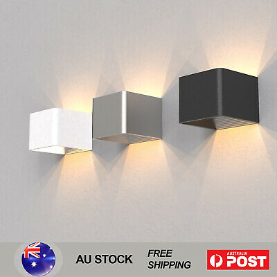 LED Cubic Wall Light Beside Modern Indoors Lights Sconce Lamp Fixtures